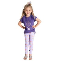 Leggings Indianerzelt lavendel