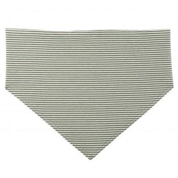 Elastisches Halstuch für Kinder oliv-grün binden