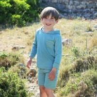 Vorschau: Hochwertige Jungen Shorts mit Seitentasche incl. Druckknopf