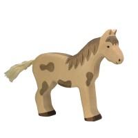 Holzfigur Pferd - auf dem Bauernhof
