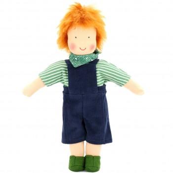 Bio Puppe zum Ankleiden 38 cm - Emil