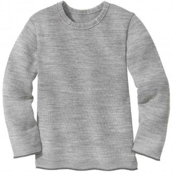 Strick Pullover in grau