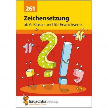 Deutsch Zeichensetzung Übungen ab 6. Klasse & Erwachsene