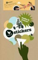 """Vorschau: Sticker """"Blumen"""" für Wishbone Holz Bikes"""