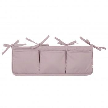Bett-Aufbewahrung-Box in altrosa
