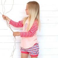 Shorts Mädchen pink Lufballon
