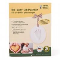 Baby Fußabdruck & Handabdruck Set klein für 1 Abdruck