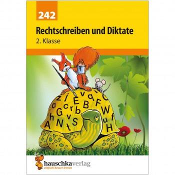 Deutsch Rechtschreibung und Diktate 2. Klasse Übungsheft