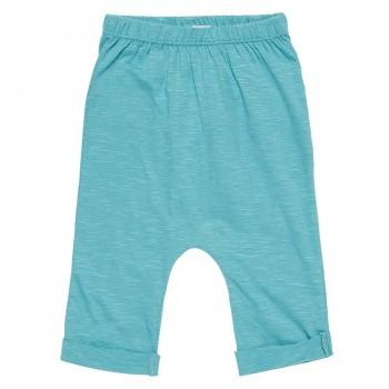 Super leichte Babyhose blau-türkis