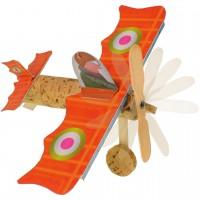 Kork Bastelset – Kork Flugzeug