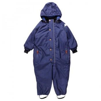 Warmer Kinder Schneeanzug navy