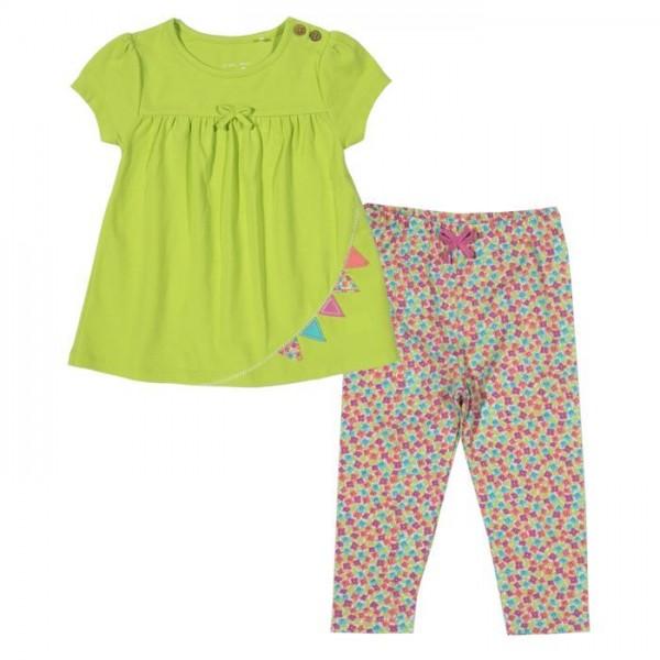 Bio Babykleidung Set aus Tunika & Leggings