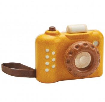 Spielzeugkamera Holz mit Effekt für Kinder ab 18 Monaten