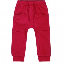 Uni Sweat Babyhose in pink