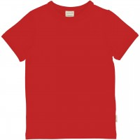 Softes T-Shirt neutral - rot