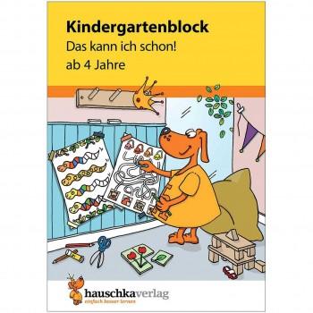 """Kindergartenblock """"Das kann ich schon!"""" ab 4 Jahre"""