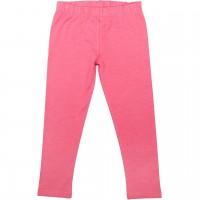 Elastische Uni Basic Leggings pink