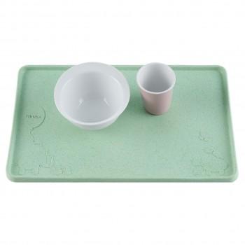 Tischset Naturkautschuk mit Saugnäpfen - Mint