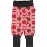 Babyhose Apfel rosa Bündchen
