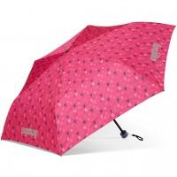 Kinder Regenschirm pinke Herzchen
