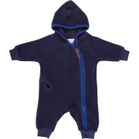 Öko Baby Fleeceoverall Reissverschluss warm und kuschelig