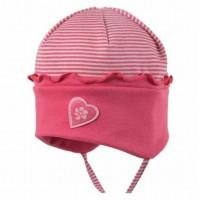 Vorschau: Bio Babymütze für Sommer & Übergangszeit - pink