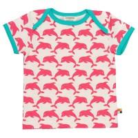 T-Shirt Delfine corale rosa