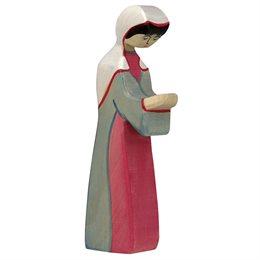 Maria Krippenfigur aus Holz