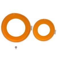 Vorschau: Grosser super weicher Wurfring LOOP Frisbee mango