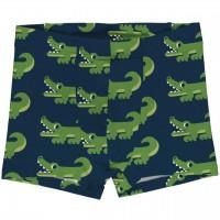 Boxershorts Krokodil in navy