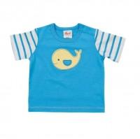 Vorschau: Leichtes Baby Shirt blau