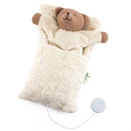 Spieluhr Bärchen im Schlafsack - Brahms Wiegenlied