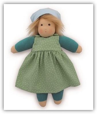 Nanchen-Puppe-Lotti-Sommerkind-gruen