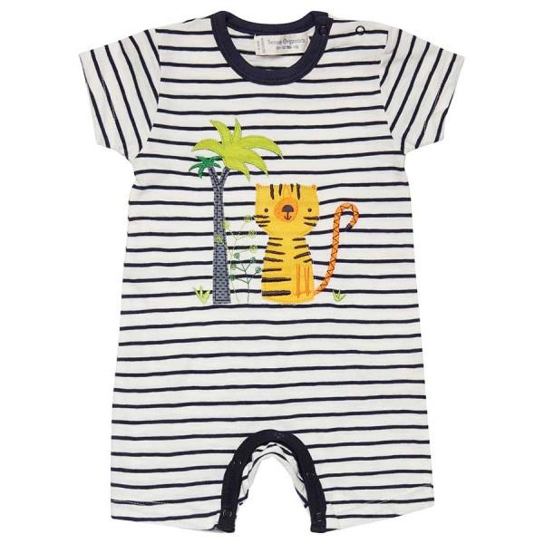 Sommer Beachbody mit Tiger für Jungen