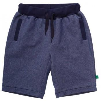 Leichte Jersey Shorts Jeans-Optik