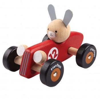 Rennauto Spielzeug lenkbar ab 12 Monaten Hase