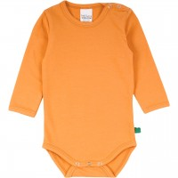Basic Body langarm in hellem orange
