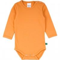Basic Body langarm in hellem orange