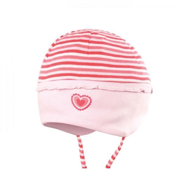 Babymütze für die Übergangszeit mit weichem Ohrenschutz