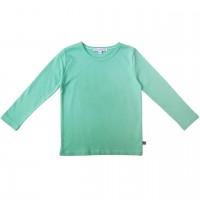 Uni Langarmshirt mint-grün
