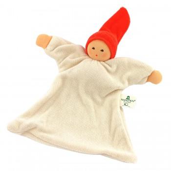 Nuckel mit Mütze - rot