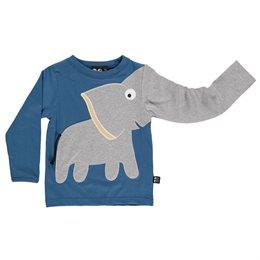 Cooles Jungen Elefanten Shirt - langarm