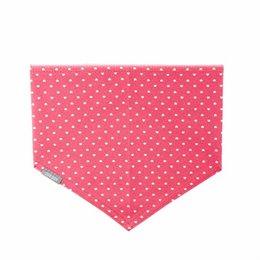 Elastisches Halstuch für Kinder pink