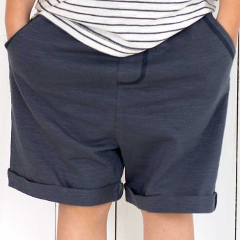 Kinder Shorts super leicht anthrazit