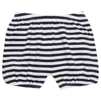 Baby Bio Shorts gestreift - marine