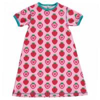Erdbeere Nachthemd - auch als Kleid tragbar