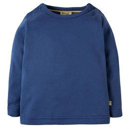 Warmes langarm Shirt blau
