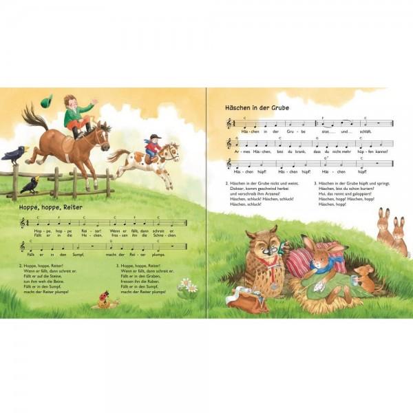 17 Lieder mit CD - Meine liebsten Kinderlieder
