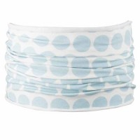 Schlauchschal soft elastisch 30x25 cm pastellblau