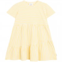 Babykleid Ringel in gelb